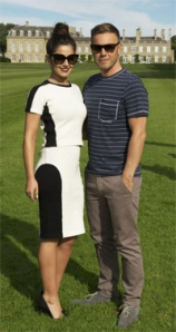 Cheryl Cole and Gary Barlow: Before disappearing up Simon Cowell's bottom