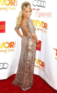 Kristin Chenoweth: Coming or going?