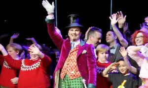 Charlie And The Chocolate Factory: Original Cast waving goodbye to their chances of winning Best New Musical